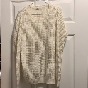 Forever 21 sweater white comfy